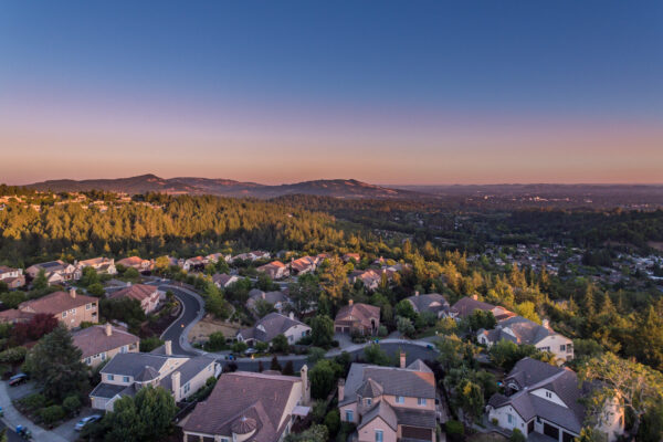 Fountain Grove Aerial Twilight - Print Res (1 of 1)