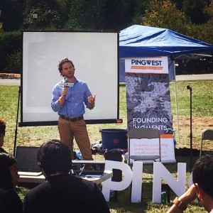 Pingwest Speech at UC Berkeley